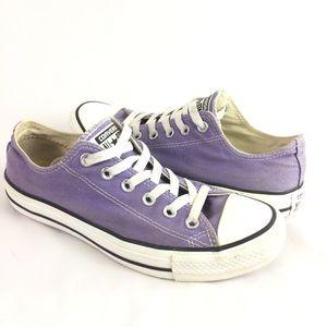 CONVERSE | shoes lavender low top SZ 6/8